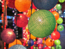 Thai Decoration, 2007. Balls and Decorations in Koh-Samui, Thailand Royalty Free Stock Photos