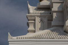 Thai  decorative style in architecture detail 5 Royalty Free Stock Image