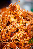 Thai deep fried crabs Royalty Free Stock Images