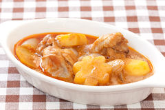 Thai delicious massaman curry Stock Images