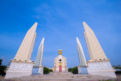 Thai Democracy Monument Stock Photo
