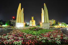 Thai Democracy Monument Royalty Free Stock Images