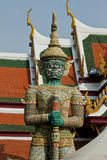 Thai Demon in Grand Palace Royalty Free Stock Image