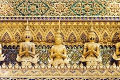 Thai Demon Guardian Statues Stock Photography