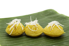 Thai Desert. Made from flour egg and sugar Royalty Free Stock Image