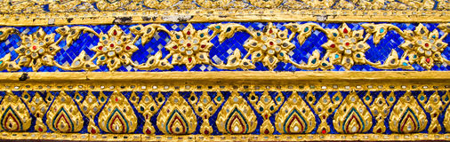 Thai design background Royalty Free Stock Images