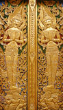 Thai design decoration. At temple royalty free stock images