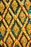 Thai Design Pattern Royalty Free Stock Images