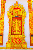 Thai design about window Stock Photography
