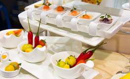 Thai desser deletable imitation fruits Royalty Free Stock Photos