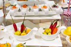 Thai desser deletable imitation fruits Stock Photos