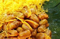 Thai dessert. Close up of thai dessert Stock Photo