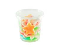 Thai dessert. Star on white background stock image