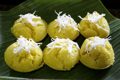 Thai Dessert. From flour egg and sugar Stock Image