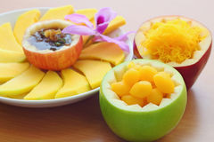 Thai dessert Royalty Free Stock Photos