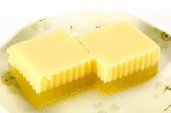 Thai dessert agar Royalty Free Stock Photo