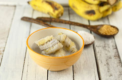 Free Thai Dessert - Banana In Coconut Milk Royalty Free Stock Photos - 72914138