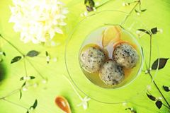 Thai dessert. Royalty Free Stock Images