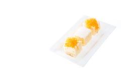 Thai dessert cake Royalty Free Stock Photos