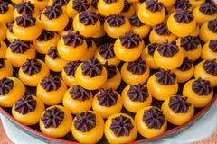 Thai dessert. Cilorful Traditional royal Thai dessert Stock Image