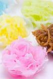 Thai dessert. Colorful Thai tradition dessert Stock Images