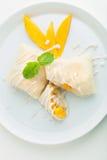 Thai Dessert Crepes Stock Photography