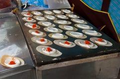 Thai Dessert Crispy Crepes Royalty Free Stock Images