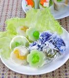 Thai dessert. Royalty Free Stock Photos
