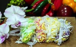 Thai dessert Stock Photo