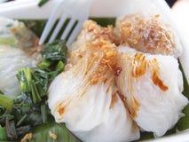 Thai Dessert. Name Ka Nhum Mo Kang Sweet Steam Stock Photo