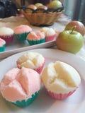 Thai dessert. Pui fai Thai cupcake Stock Photos