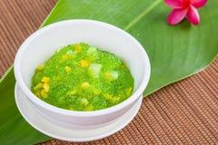 Thai dessert (sagu) Stock Image