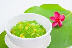 Thai dessert (sagu) Stock Images