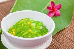 Thai dessert (sagu) Royalty Free Stock Photos
