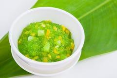 Thai dessert (sagu) Stock Photos