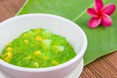 Thai dessert (sagu) Royalty Free Stock Image