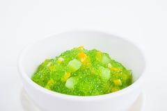 Thai dessert (sagu) Stock Photography