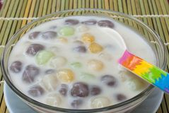 Thai dessert. Royalty Free Stock Photo