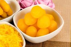 Thai dessert Royalty Free Stock Images