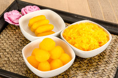 Thai dessert Stock Photography