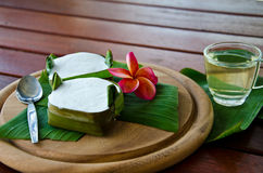 Thai dessert stock images