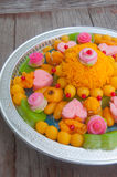 Thai dessert use for wedding ceremony Royalty Free Stock Photography