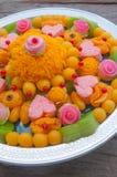 Thai dessert use for wedding ceremony Royalty Free Stock Photo