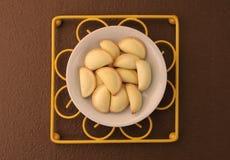 Thai dessert in white ceramic plate Stock Images