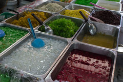 Thai desserts Royalty Free Stock Images