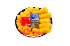 Thai desserts, sweet variety Stock Image