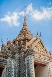 thai detaljtempel Royaltyfri Bild