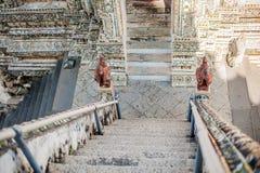 thai detaljtempel Royaltyfri Fotografi