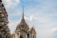 thai detaljtempel Arkivfoton