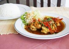 Thai dish stock image